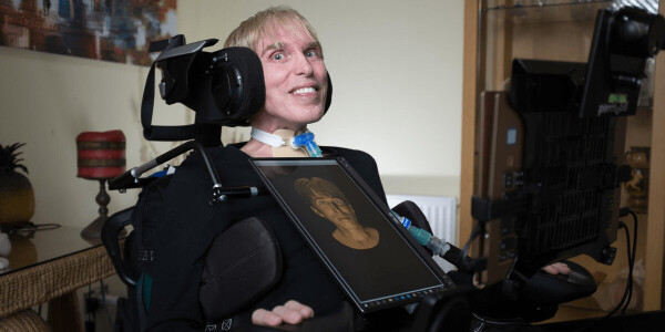 How Intel helped give the 'world's first' cyborg a voice
