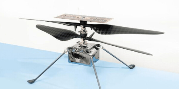 This Mars helicopter will be the first ever to fly on another planet