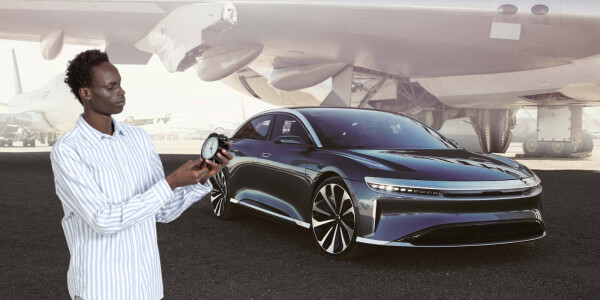 Lucid brags that its debut EV will be the fastest charging… in the world