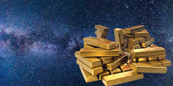 Scientists believe they've found the origins of 'space gold'