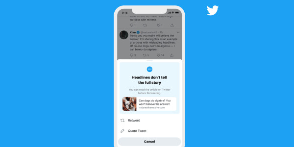 Twitter will soon call you out for retweeting articles you haven't actually read