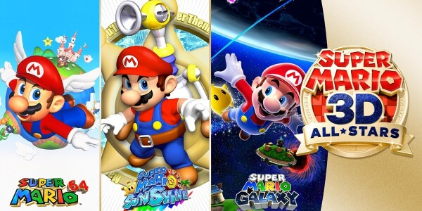 Nintendo finally ports Super Mario 64, Sunshine, and Galaxy to Switch