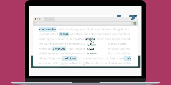 This browser extension helps you learn words in other languages while reading online
