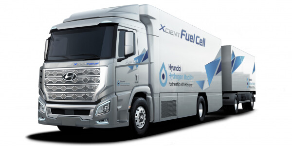 Hyundai's first fuel cell-powered trucks arrive in Switzerland — bye bye, diesel