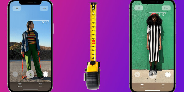 The iPhone 12 Pro can measure people's height — here's how