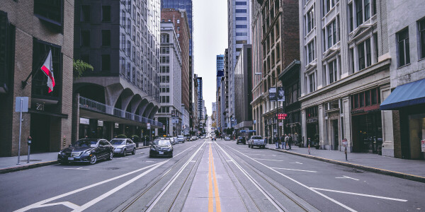 Why cities must narrow car lanes to make room for pedestrians