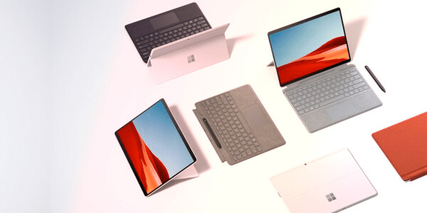 The ARM-based Surface Pro X gets a faster processor and fancy colors