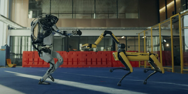 Watch: Boston Dynamics robots dance to convince us that they're friendly