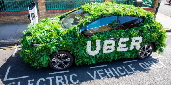 Uber expands its low-emission ride options to 1,400 more North American cities