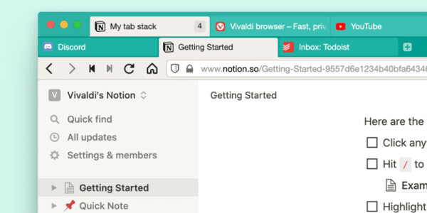 Vivaldi is introducing two-level tabs — and I want them in every browser