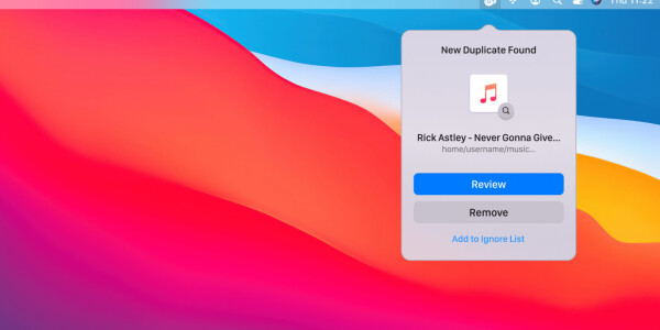 This Mac app automatically detects your duplicate files