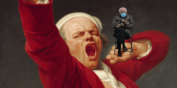 Help kill the 'Bernie sitting' meme with this easy-to-use image generator