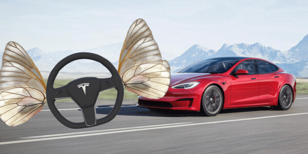 Why Tesla's impractical butterfly steering wheel probably won't make it into production