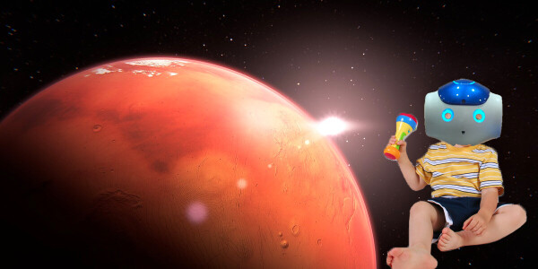 These self-sufficient robots can have 'babies' and colonize distant planets