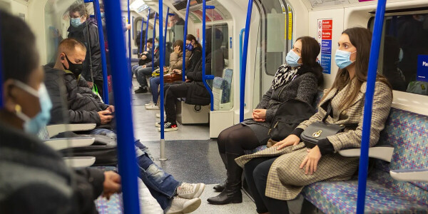 Don't talk or make phone calls on public transport — it's a COVID risk