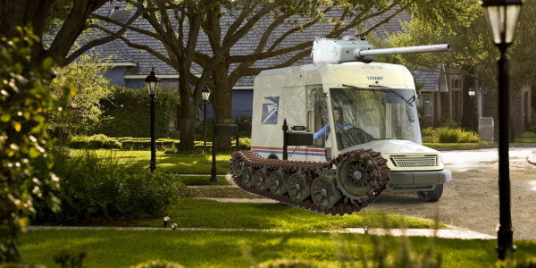 US Postal Service gets a military tank-maker to create 'ugly' new delivery EVs