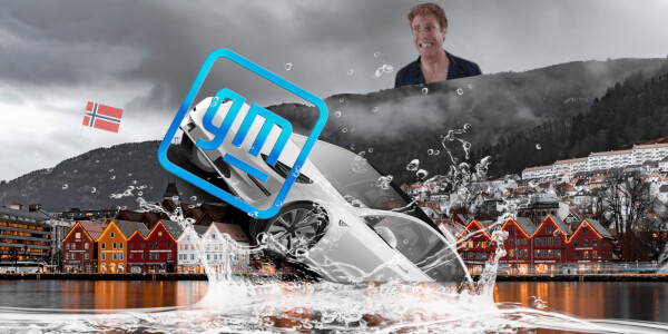 Norway responds to GM and Will Ferrell's EV challenge… with mackerel-slapping?