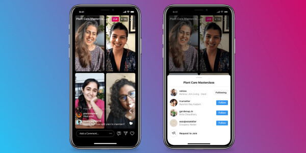 Instagram's new Live Rooms lets you go live with three other people — too bad you don't have any followers