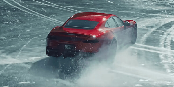 Watch this $1.2M supercar EV drift on ice like a ballerina