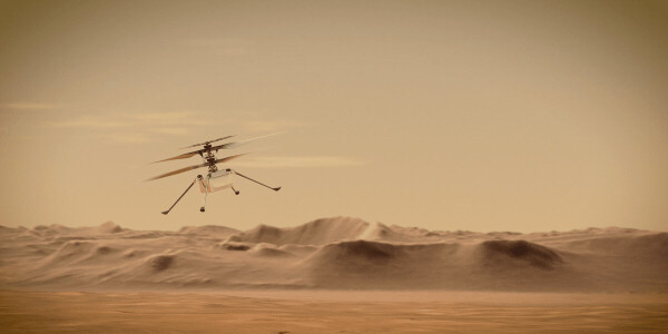 How an old smartphone processor will power the first-ever flight on Mars