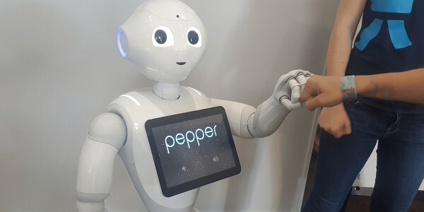 Pepper the robot has been talking to itself to gain your trust