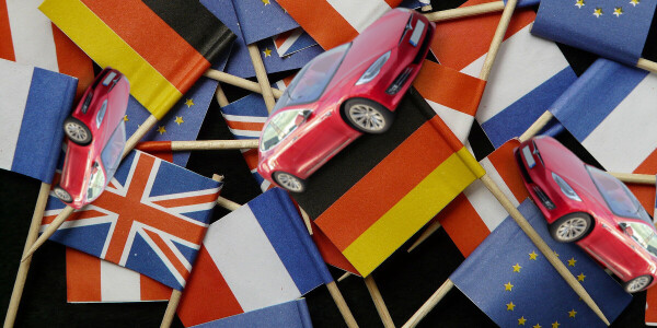 Germany, UK, and France are Europe's top 3 EV loving nations