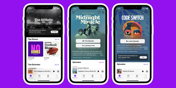 Apple fires up the podcast war with subscriptions and an app redesign