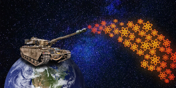 Quantum computers will win the next world war