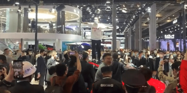 Tesla faces protesters over brake failures at Auto Shanghai