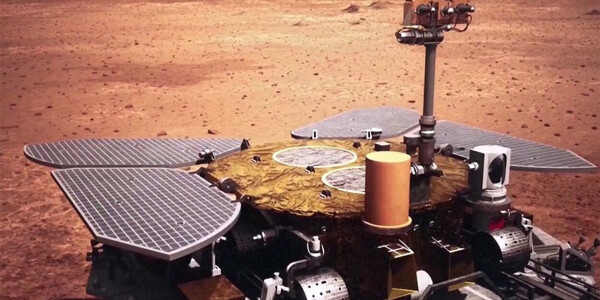 China landed its Mars rover on the first try — here's what's next