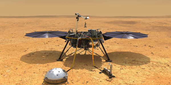 NASA's InSight lander might have discovered active volcanoes on Mars
