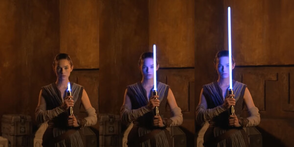 Disney finally made a retractable lightsaber that looks legit