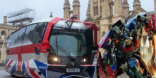 Britain's first self-driving shuttle bus hits the streets, but scares passengers away
