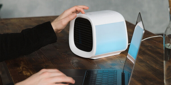 Work comfortably with this $100 energy-efficient personal air conditioner