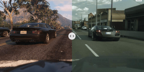 Watch GTA V get an AI-powered photorealistic makeover