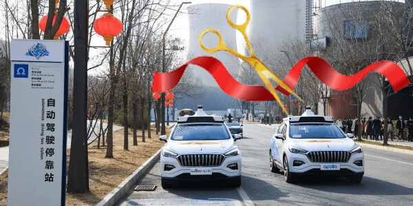 Self-driving robotaxis are now an actual 'thing' in China