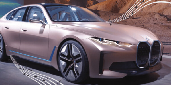 Thanks to Hans Zimmer, the BMW i4 EV will sound brilliant