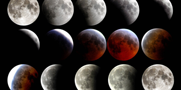 Supermoon! Red blood lunar eclipse! Simultaneously! Tomorrow!?! Here's what that means
