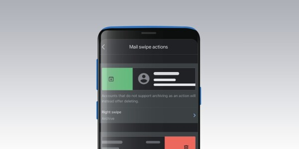 How to customize swipe gestures on the Gmail app