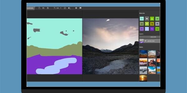 Nvidia's AI turns your shaky brush strokes into beautiful landscapes
