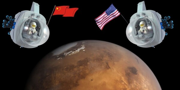 The Mars race is ON: China wants humans on the red planet by 2033