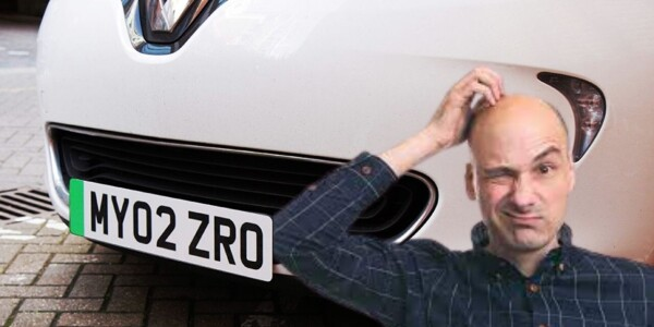 UK fails to explain what the hell those green number plates are