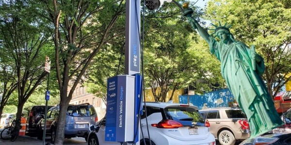 NYC folks just got another reason to buy an EV: curbside chargers are coming