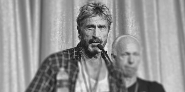 McAfee died in the most 'McAfee' way possible