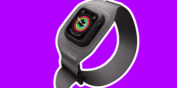 This exercise armband will stop you ruining your fancy Apple Watch straps