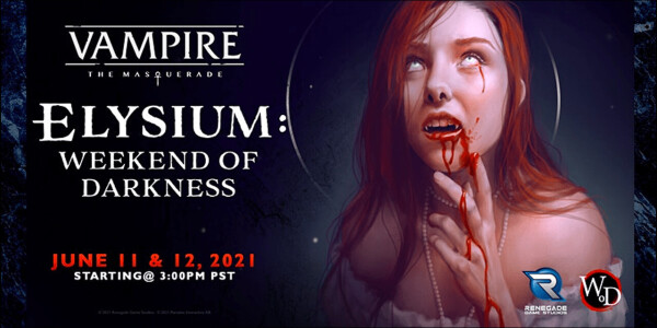 Bloodsucker? There's a free online Vampire: The Masquerade convention this weekend