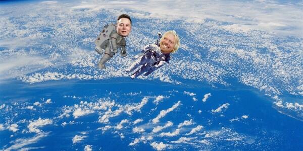 Elon Musk will leave Earth with Branson — soz Bezos