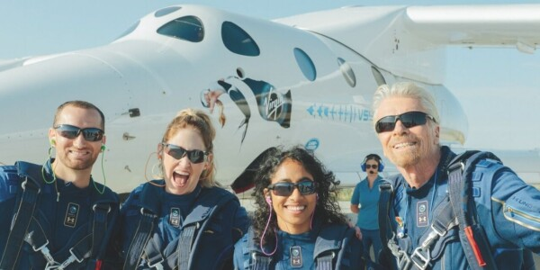 Watch Richard Branson's ego trip to edge of space