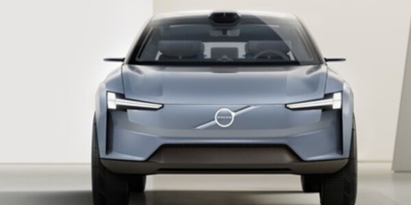 Volvo's sleek concept car teases its new EV design language
