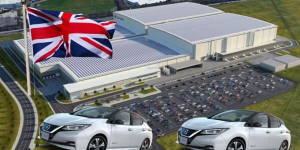 UK to get its first battery gigafactory as part of Nissan's $1.4B investment plan